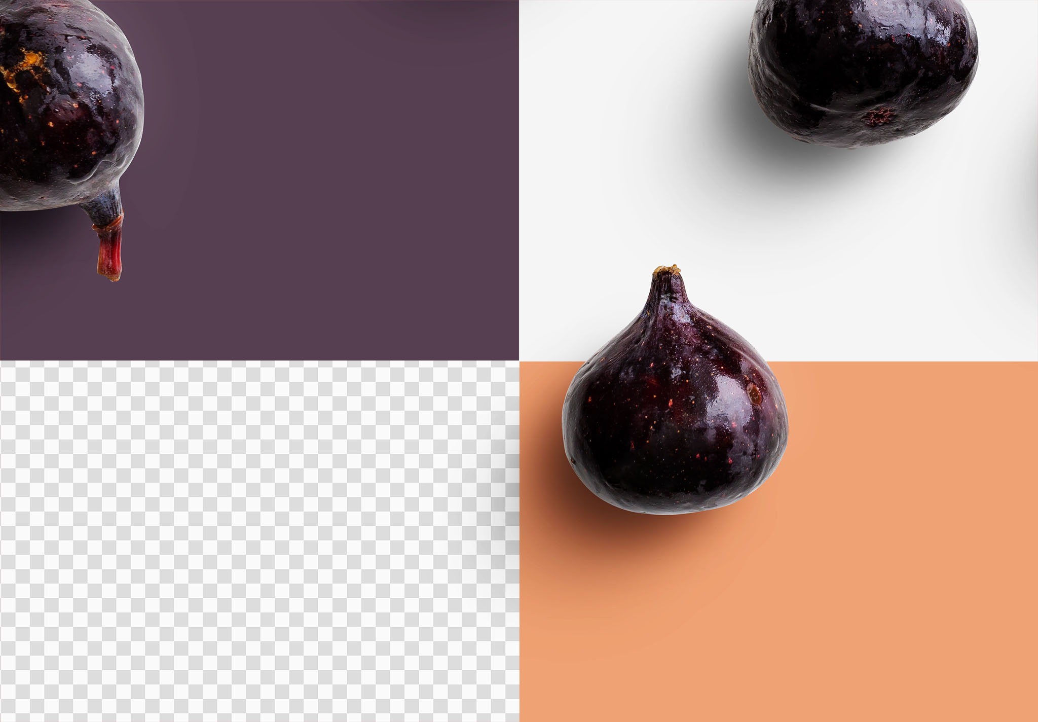 Fruit Fig Isolated Objects 2