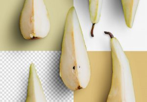 Fruit Pears Isolated Objects 2