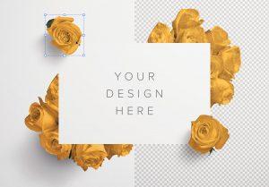Roses Custom Scene Creator Template 2 Image01