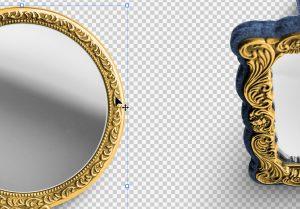 Vanity Set Isolated Objects