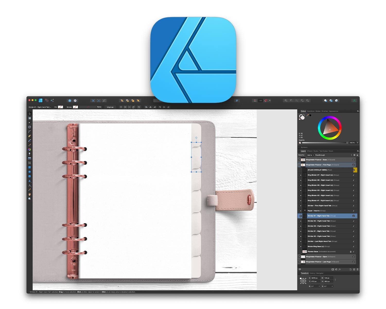 affinity designer files